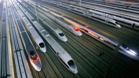New 1,5 hours Chengdu-Chongqing high-speed railway
