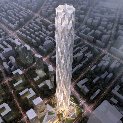 Greenland breaks ground on 468-meter-high skyscraper in Chengdu