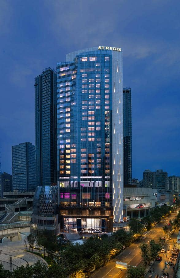 The St. Regis, Chengdu 成都瑞吉酒店