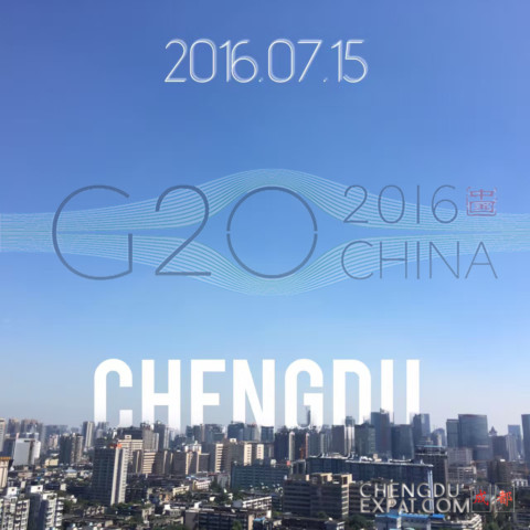 Blue Skies Over Chengdu as City Hosts G20