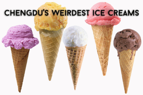 Chengdu's Weirdest Ice Creams
