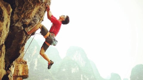 Where to go Rock Climbing in Chengdu