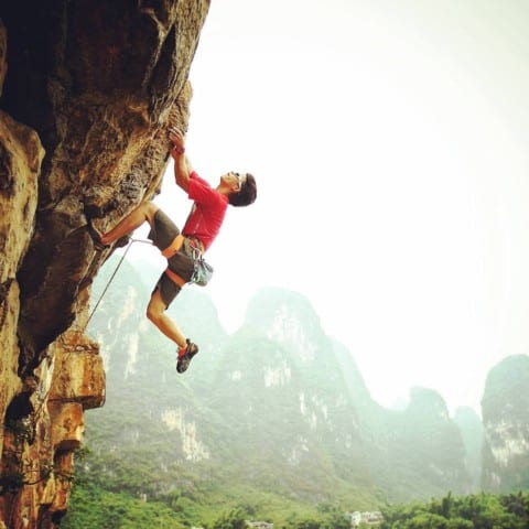 Rock climbing places in Chengdu|