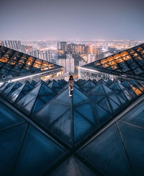 Explore the urban jungle ??@Kevin.deng