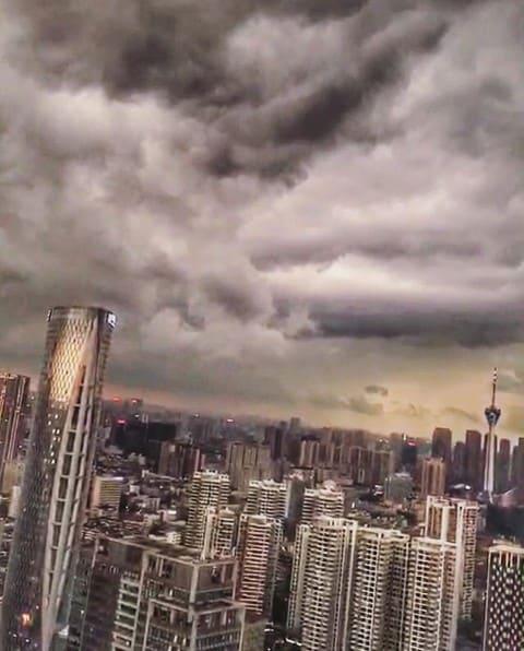 Storms in #chengdu ?@gloriazrm