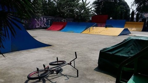 Hitting the ramps ?@jasonplourdeflat