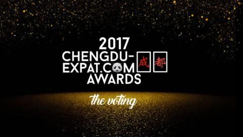 Vote Now! The 2017 Chengdu-Expat Awards
