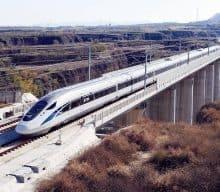 New Chengdu-Xi'an High Speed Train
