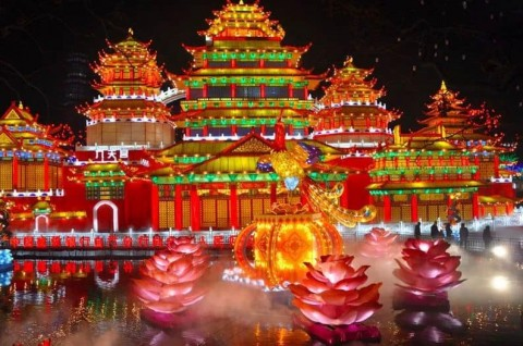 Lantern Festivals in and around Chengdu