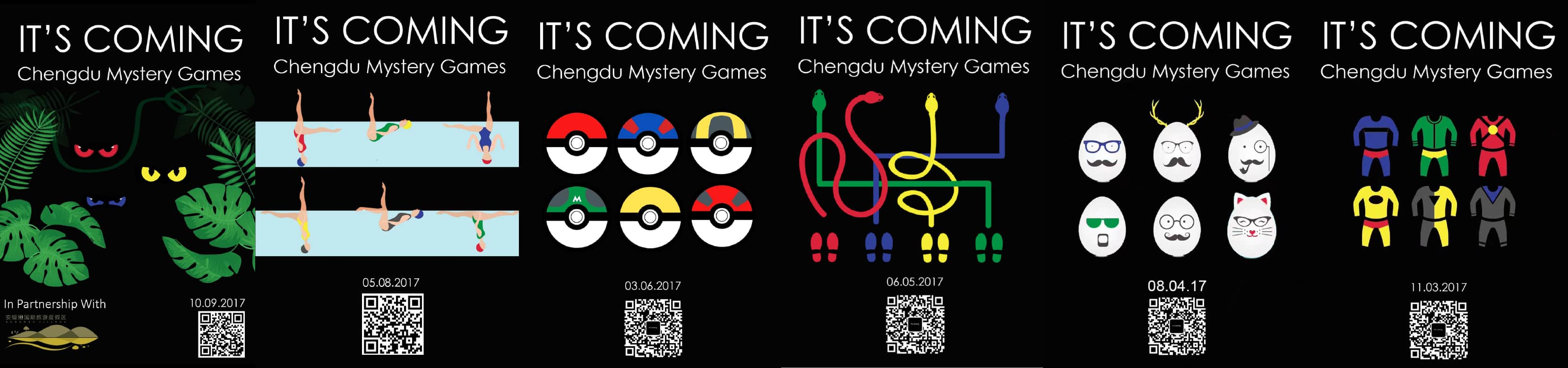 Chengdu Mystery Games | It's Coming | chengdu Expat
