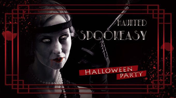 October 27th: Haunted Spookeasy @ The Cube