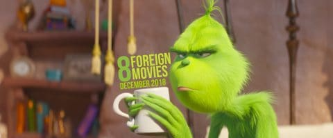 8 Foreign Movies in Chengdu this December