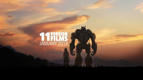 11 Foreign Films in Chengdu in January 2019