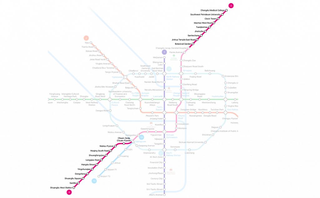More Metro extensions | Chengdu Expat News