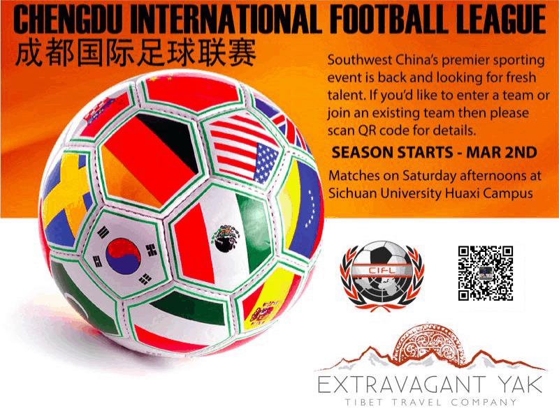 2019 Chengdu International Football League Chengdu Expat Com