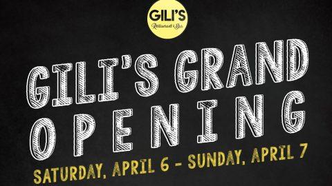 April 6-7: 20% off at Gili's, New Chengdu Bistro