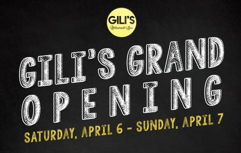 April 6-7: 20% off at Gili's, New Chengdu Bistro