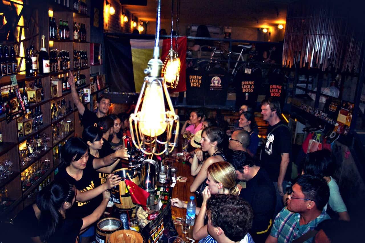 1店 The Beer Nest I inside