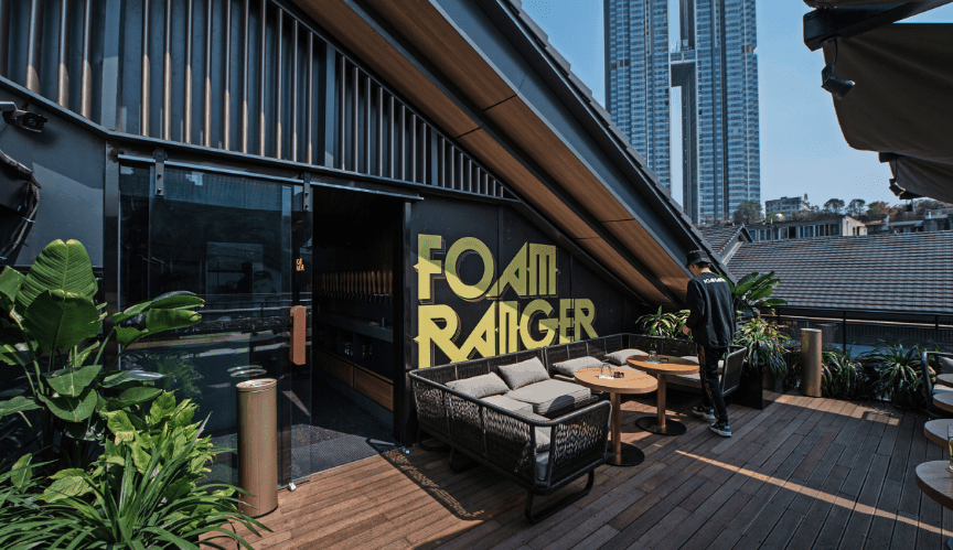 Chengdu Expat foam ranger5