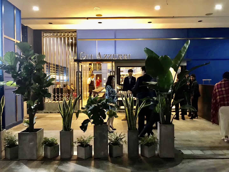 Gli Azzuri Chengdu chengdu expat