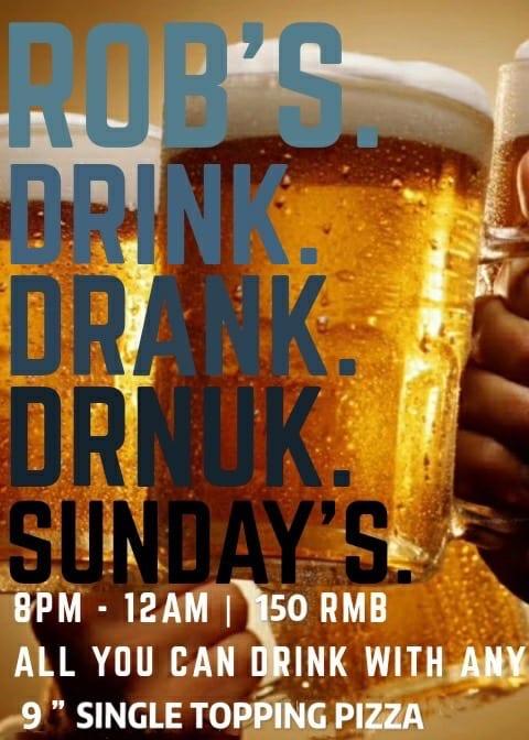 May 31 Robs Drink Drank Drunk Sunday 1 chengdu expat