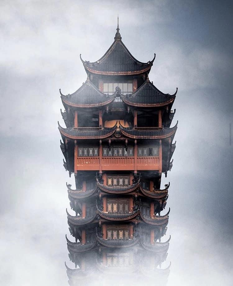 Jiutian Tower this October