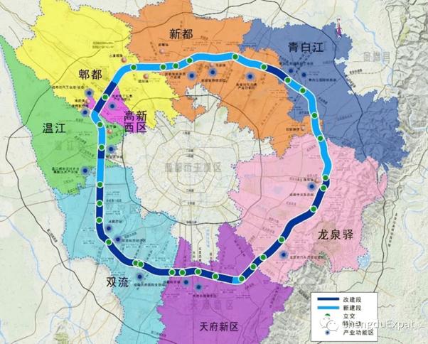 5th ring road map-chengdu-expat