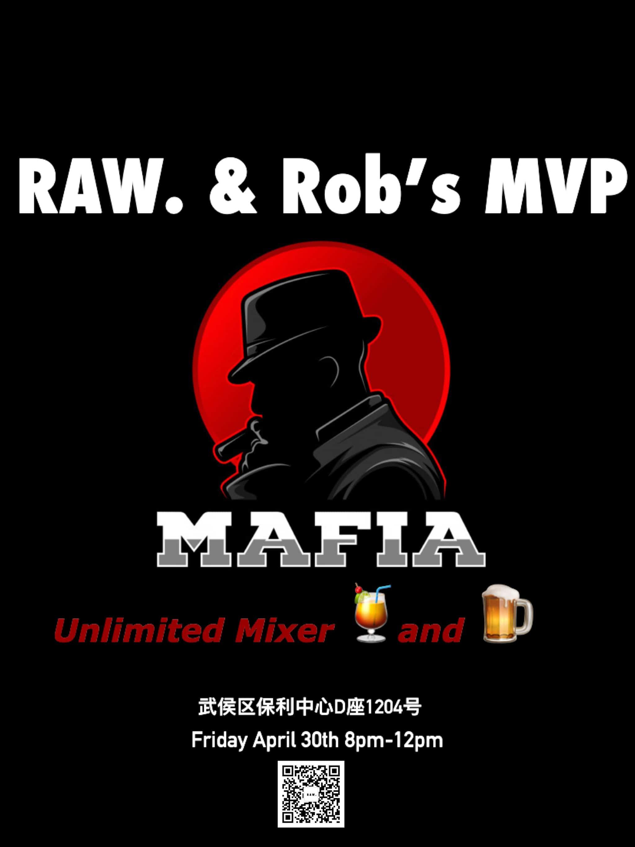 April 30th: Mafia Game Nicht