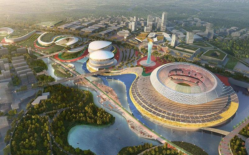 Tianfu Olympic Sports Park chengdu expat