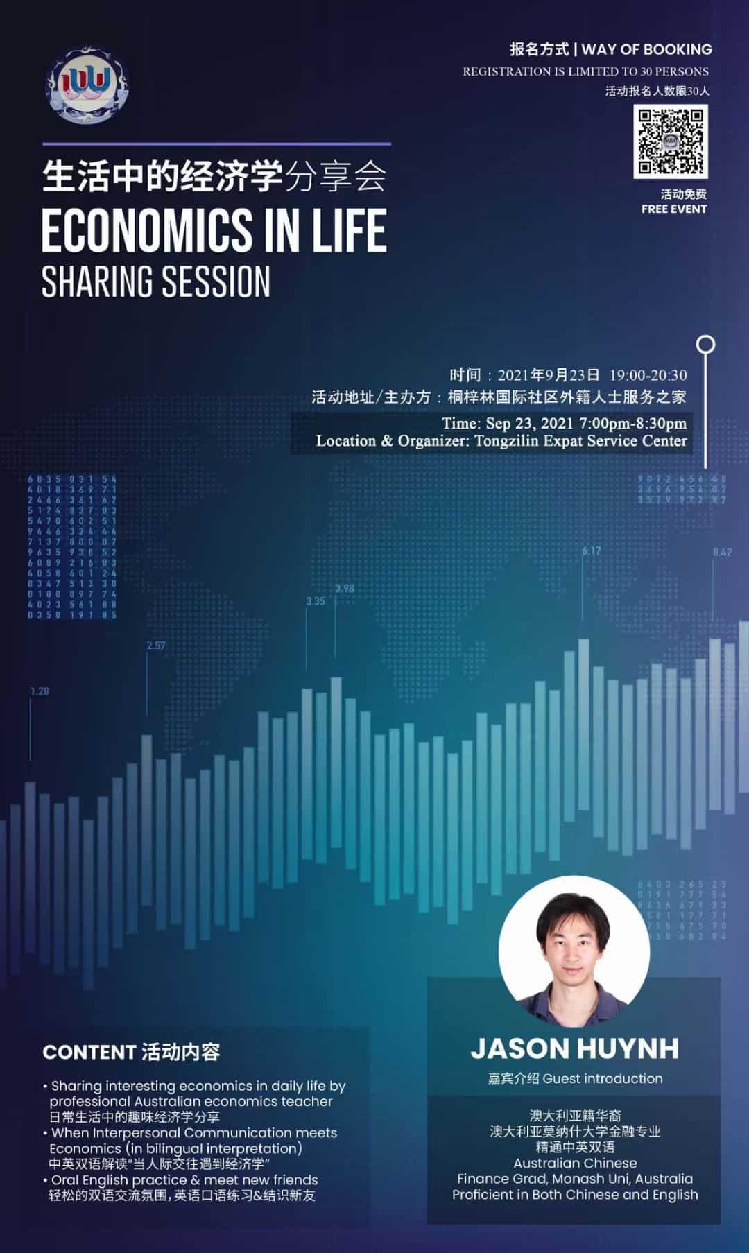 Economics life investment session chengdu expat